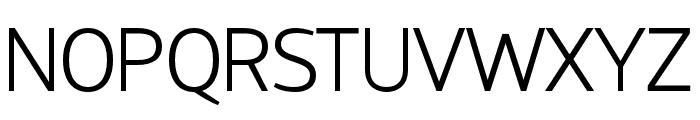 HattoriHanzo-Light Font UPPERCASE