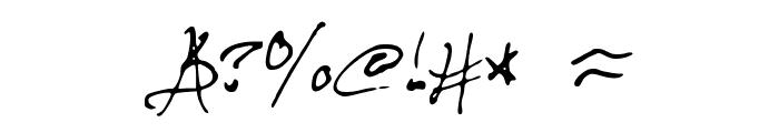 HaunFontV1 Font OTHER CHARS