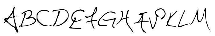 HaunFontV1 Font UPPERCASE