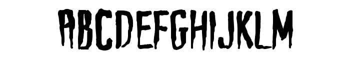 Haunt AOE Font UPPERCASE
