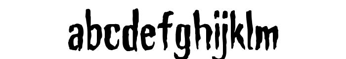 Haunt AOE Font LOWERCASE