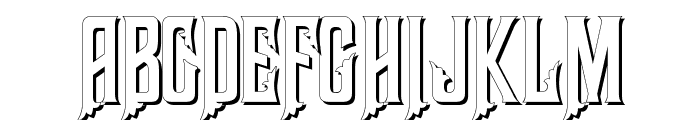 Haunted Mouse Shadow Alt Font UPPERCASE
