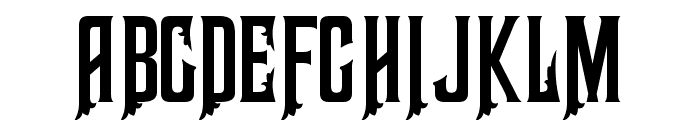 Haunted Mouse Font UPPERCASE