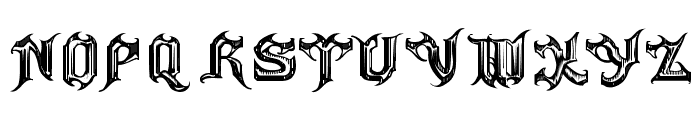 Haunted-Normal Font UPPERCASE