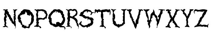 Haunted Regular Font UPPERCASE