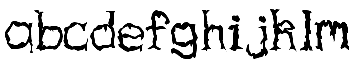 Haunted Regular Font LOWERCASE
