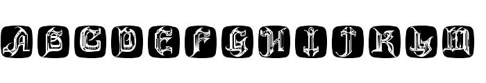 HauntedBricks Font UPPERCASE