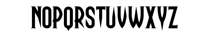 Haunting Attraction Font UPPERCASE