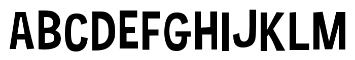 Hauracherell NC Font UPPERCASE