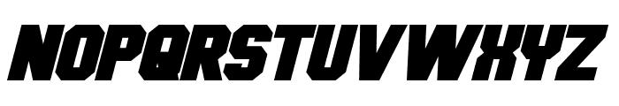 Hauser Bold Italic Font UPPERCASE