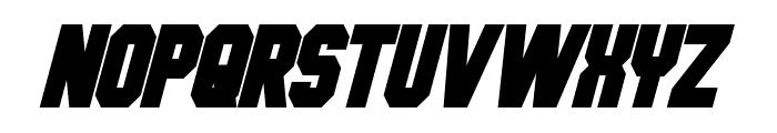 Hauser Condensed Bold Italic Font UPPERCASE