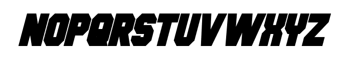 Hauser Condensed Bold Italic Font LOWERCASE