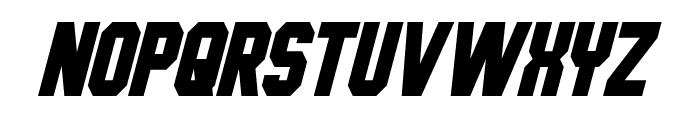 Hauser Condensed Italic Font UPPERCASE