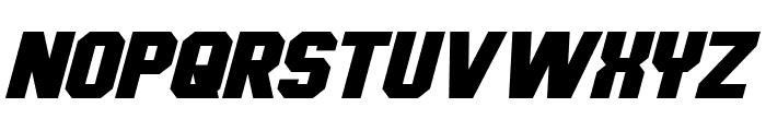 Hauser Italic Font UPPERCASE