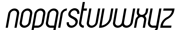 Havana Italic Font LOWERCASE