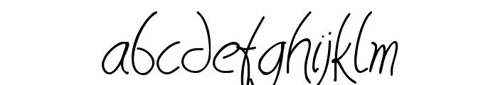 HavingWrit Font LOWERCASE