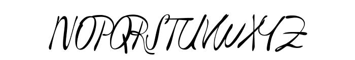 Havlova-Austral Font UPPERCASE