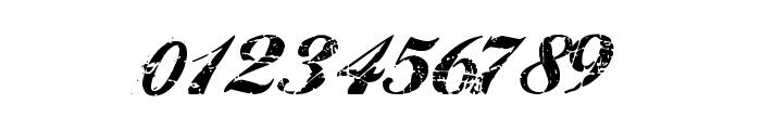 Hawaii Killer Font OTHER CHARS
