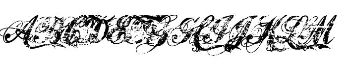 Hawaii Killer Font UPPERCASE