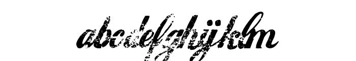 Hawaii Killer Font LOWERCASE