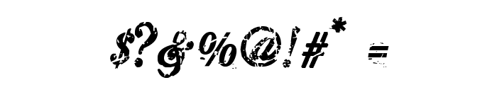 HawaiiKiller Font OTHER CHARS