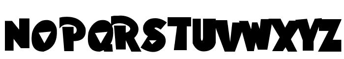Hawaiian Punk Font UPPERCASE