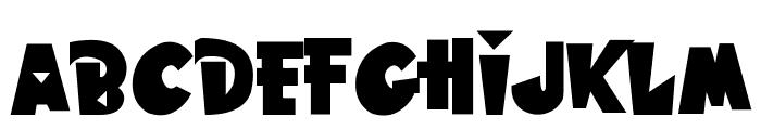 Hawaiian Punk Font LOWERCASE
