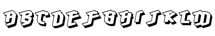 Hawkeye-Regular Font LOWERCASE