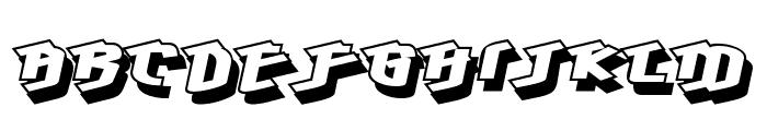 Hawkeye Font UPPERCASE
