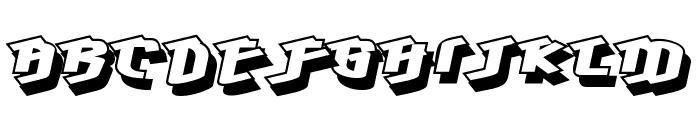 Hawkeye Font LOWERCASE
