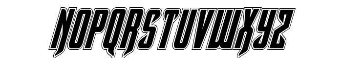 Hawkmoon Academy Italic Font LOWERCASE