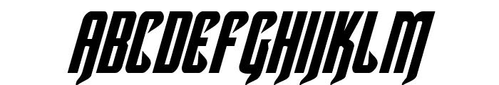 Hawkmoon Italic Font LOWERCASE