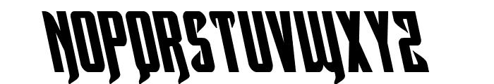 Hawkmoon Leftalic Font UPPERCASE