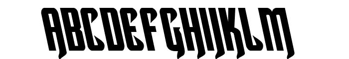 Hawkmoon Leftalic Font LOWERCASE
