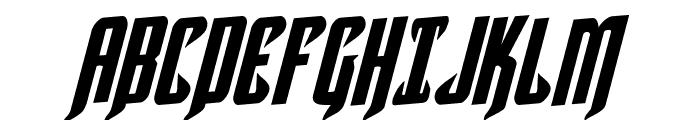 Hawkmoon Rotalic Font UPPERCASE