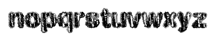 HawtWould Font LOWERCASE