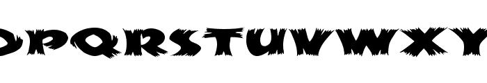 HayStackMF Wide Font UPPERCASE
