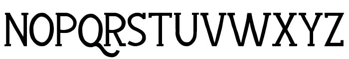 Hayyu Kaget Normal Font UPPERCASE