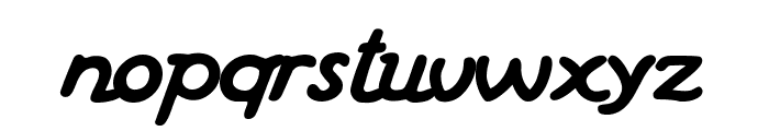 Haziness Book Font LOWERCASE