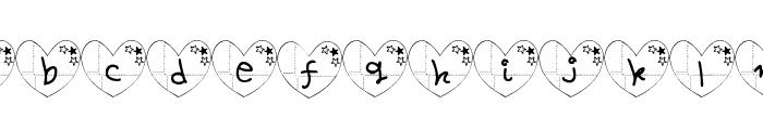 ha-Font Font LOWERCASE
