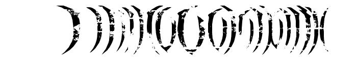 haAJJA Font OTHER CHARS