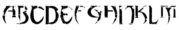 haAJJA Font UPPERCASE