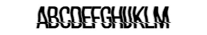 hackerchaos Font UPPERCASE