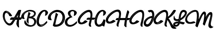 hadfield strip Font UPPERCASE