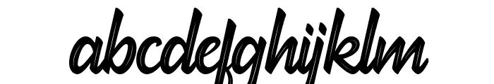 hadfield strip Font LOWERCASE