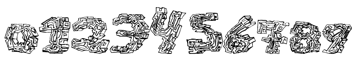 halo-sonic Font OTHER CHARS