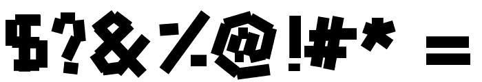 hammerandnails Font OTHER CHARS