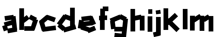 hammerandnails Font LOWERCASE