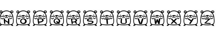 hamu font Font UPPERCASE