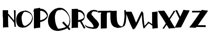 handrelief Font UPPERCASE